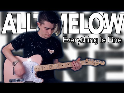 All Time Low - Everything Is Fine (Guitar & Bass Cover w/ Tabs)