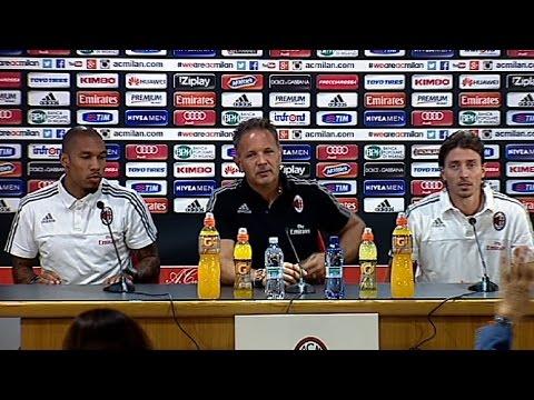 Mihajlović, Montolivo & De Jong ready to take on Fiorentina | AC Milan Official