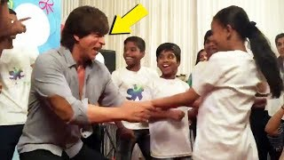 Shahrukh Khan Dacing With Kids Will Make You Happy