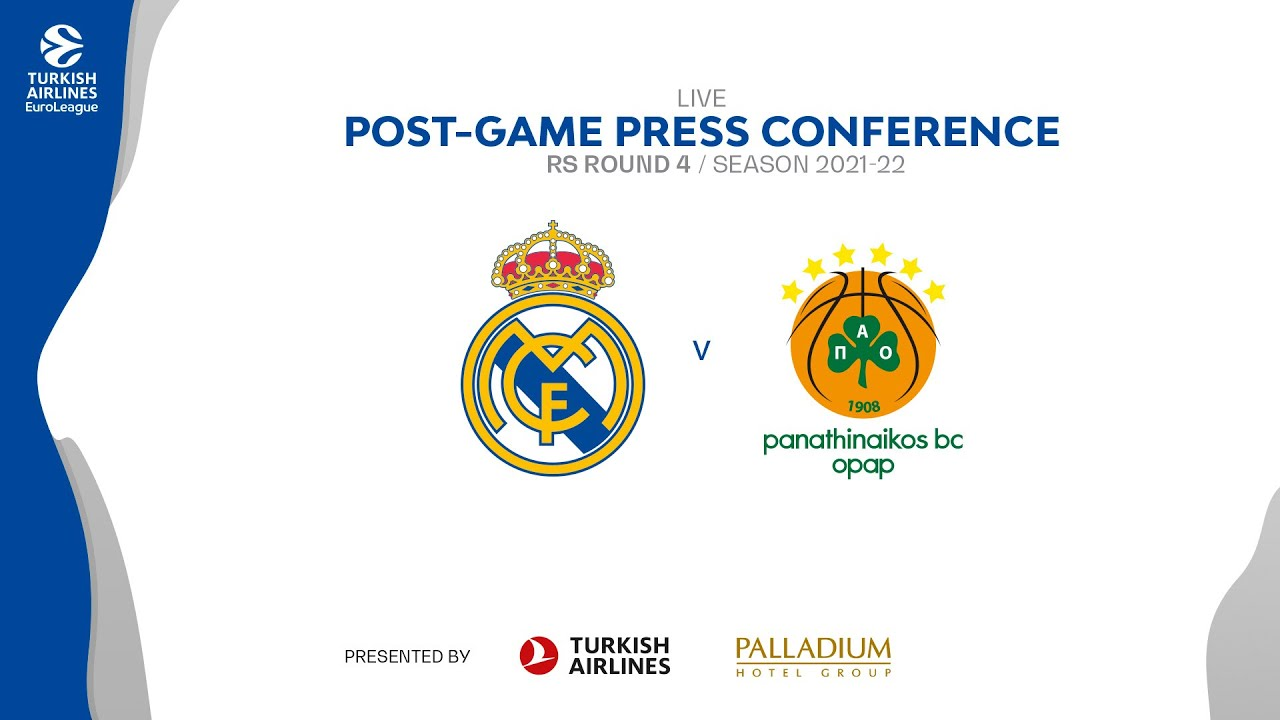 Post-game Press Conference | Real Madrid - Panathinaikos