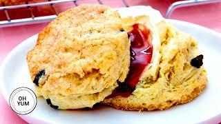 Professional Baker's Amazing Citrus Scone Recipe!
