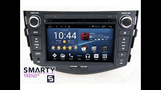The SMARTY Trend head unit for Toyota RAV4.