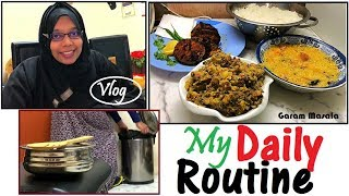My Daily Routine Volg എൻ്റെ  ദിനചര്യ A-Z Routine of A Day / Cooking, cleaning, channel work etc