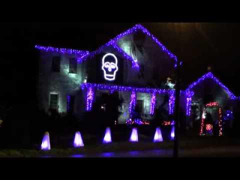 halloween light show 2011 ghostbusters