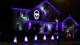 Halloween Light Show 2011 - Ghostbusters