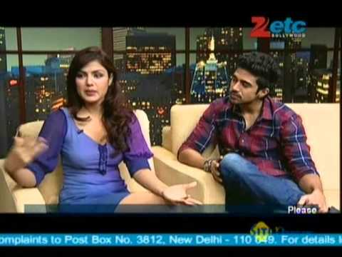 Saqib Saleem & Rhea Chakraborty With Komal Nahta