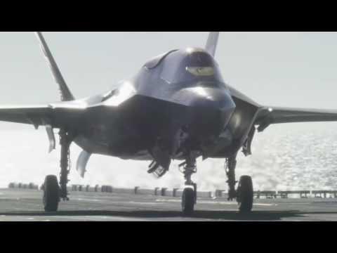 LHA America, embarked F-35B trials, part XII