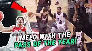 LaMelo Ball Throws One Of The GREATEST PASSES You'll Ever See! Is Melo The BEST Player In The NBL!?