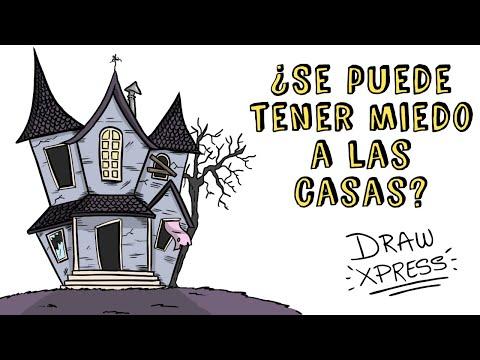 ¿SE PUEDE TENER MIEDO A LAS CASAS? | Draw My Life