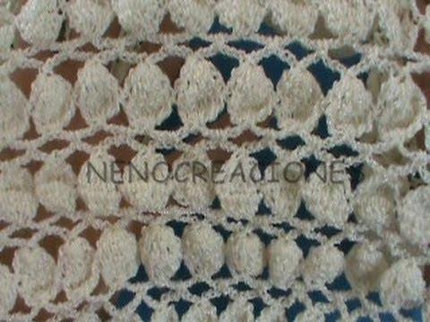 1 de 2 como tejer punto hojuela ganchillo crochet youtube - Punto de ganchillo para mantas ...