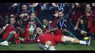 البرتغال تبكي فرنسا وتتوج بلقب كأس أمم أوروبا 2016