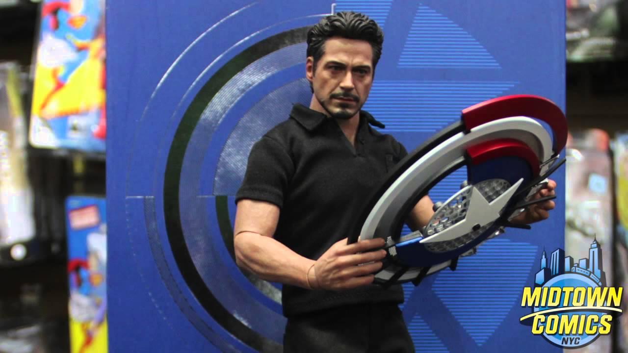 iron man 2 tony stark hot toys unboxing youtube