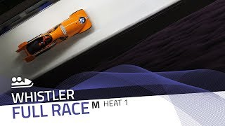 Whistler | BMW IBSF World Cup 2017/2018 - 2-Man Bobsleigh Heat 1 | IBSF Official