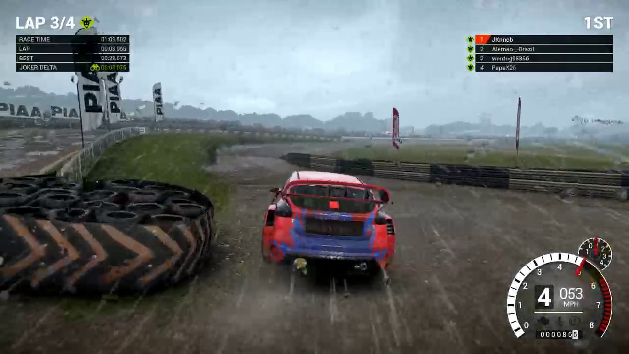 dirt 4 online rallycross at lydden hill ps4 pro youtube. Black Bedroom Furniture Sets. Home Design Ideas