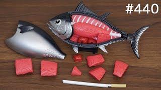 マグロの解体ショーができる「一本買い!! 本マグロ解体パズル」 / Tuna demolition puzzle. Japanese toy thumbnail