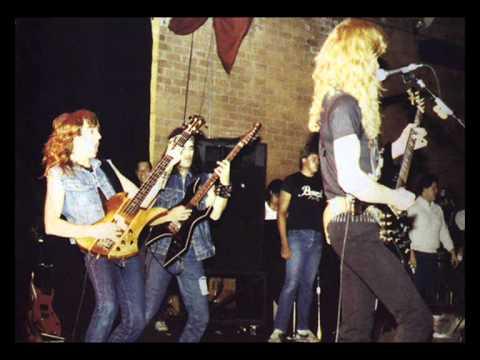 megadeth mechanix live reseda 1985 youtube