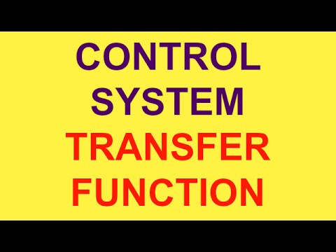 TRANSFER FUNCTION | CONTROL SYSTEM | PART-2 | BSNL JE (TTA) | JTO | GATE