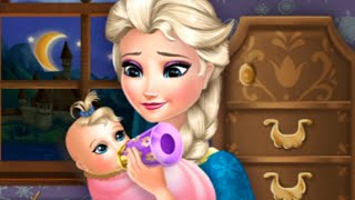 Disney frozen baby care - Elsa with babies - game inspired from movie