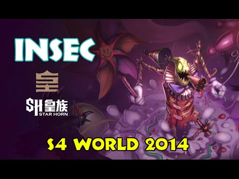 SHR vs OMG InSec Fiddlesticks Semi-Finals Highlight | LoL S4 World 2014