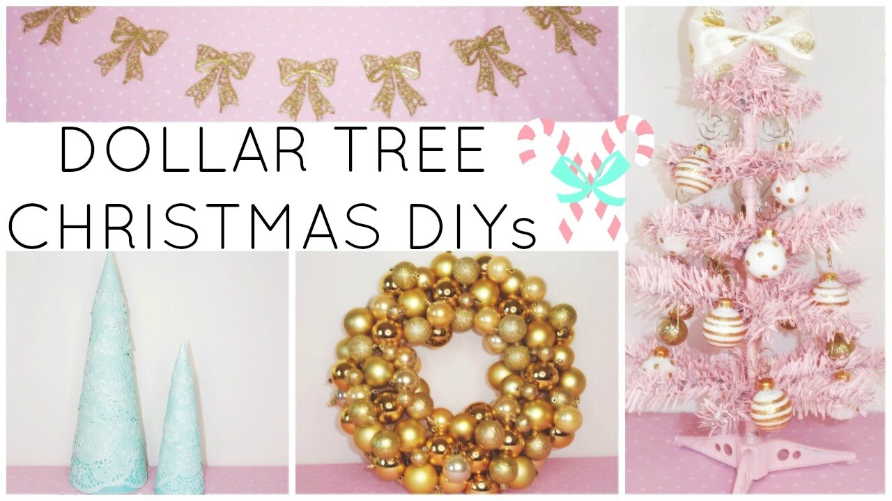 dollar tree crafts youtube last minute dollar tree christmas diy crafts 2016 10815