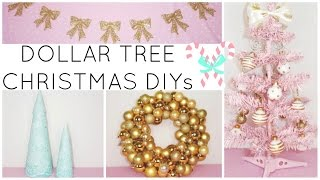 LAST MINUTE DOLLAR TREE CHRISTMAS DIY CRAFTS 2016