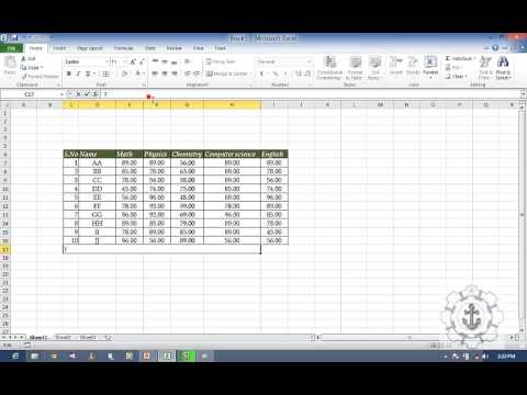 Exploring Home Tab in Excel 2010 - YouTube