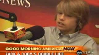Dylan And Cole Sprouse On GMA Now