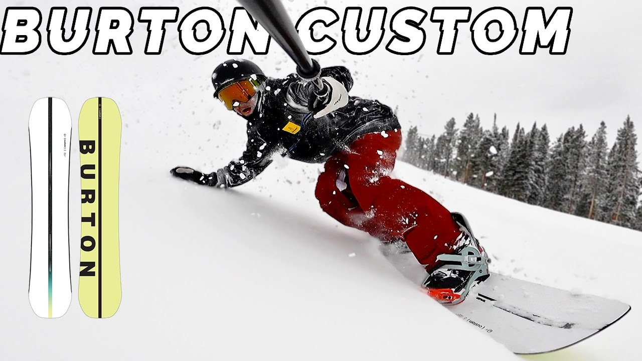 Download Burtons OG Do-It-All Snowboard // Custom Camber Review