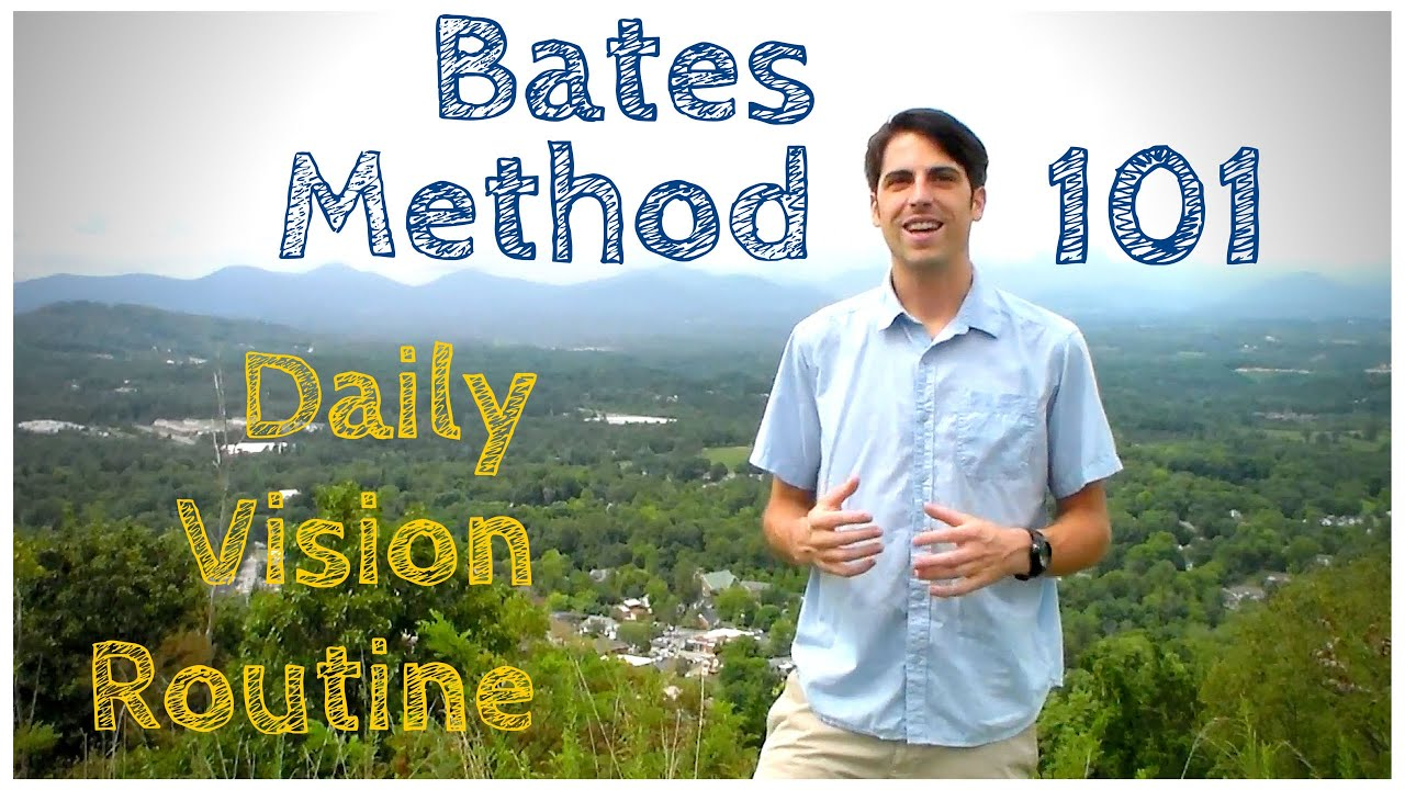 VISION: Bates simple exercise for eye health 44