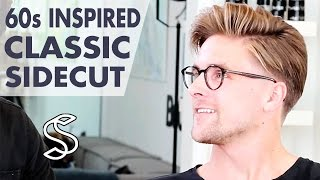 60s Inspired Hairstyle for Men - Classic Side Parting - Men