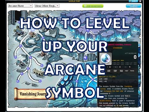 Maplestory How To Increase Arcane Symbols Level Daily Quests