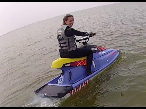 jetski yamaha waveblaster youtube