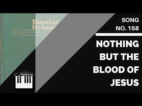 158 | Nothing But the Blood of Jesus | Baptist Hymnal 1975 Sheet Music