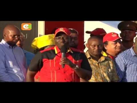 President Kenyatta, DP Ruto campaign at the coast