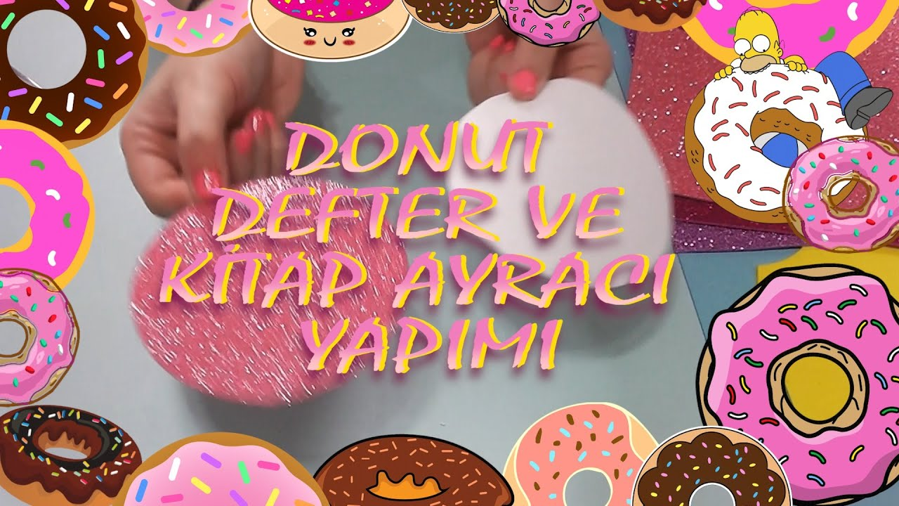 Keçeden Donut Yapımı