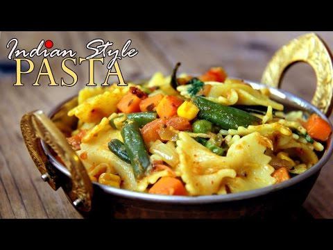Pasta Recipe Indian Style - Pasta For Kids Breakfast/ Snacks   Spicy Pasta Recipe