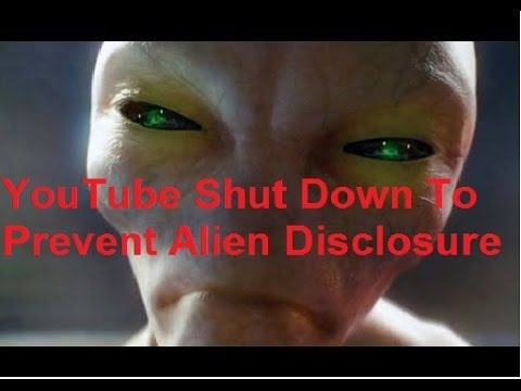 YouTube May Shut Down For UFO Alien...