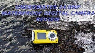 Waterproof Underwater 24 MP Digital Camera Review