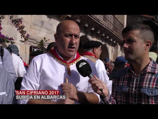 Peregrinaje en Albarcas a San Cipriano