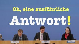 Oh, eine ausführliche Antwort! - Komplette Bundespressekonferenz vom 2. Mai 2016