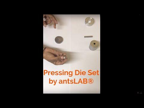 Pellet Press Die Set , Pellet Press Dies, Pressing Die Set by antsLAB®