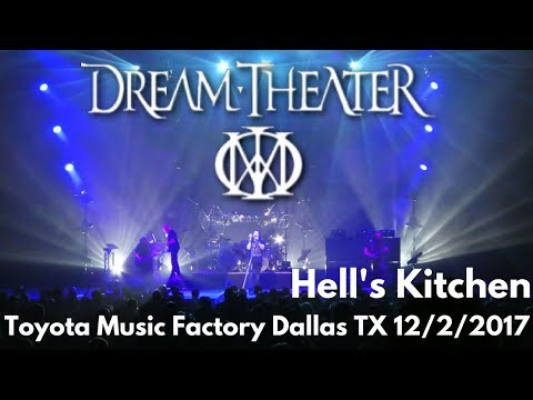 Dream Theater - Hell's Kitchen LIVE Toyota Music Factory Dallas Texas 12/2/17