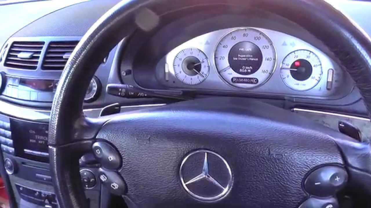 mercedes srs airbag light reset kit md702 youtube
