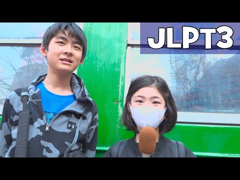 Can Japanese Kids Pass JLPT N3? (Japanese-Language Proficiency Test N3)