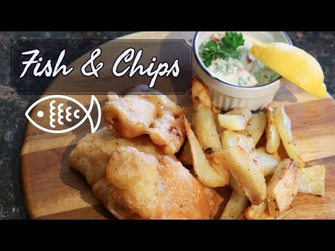 Fish And Chips | Beer Batter | TasteoftheSouthPacific