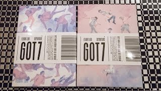 Unboxing | Got7 Mini Album - Flight Log: Departure