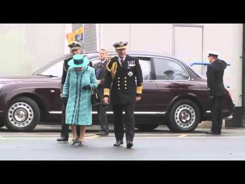 Highlights of the HMS Queen Elizabeth naming Ceremony