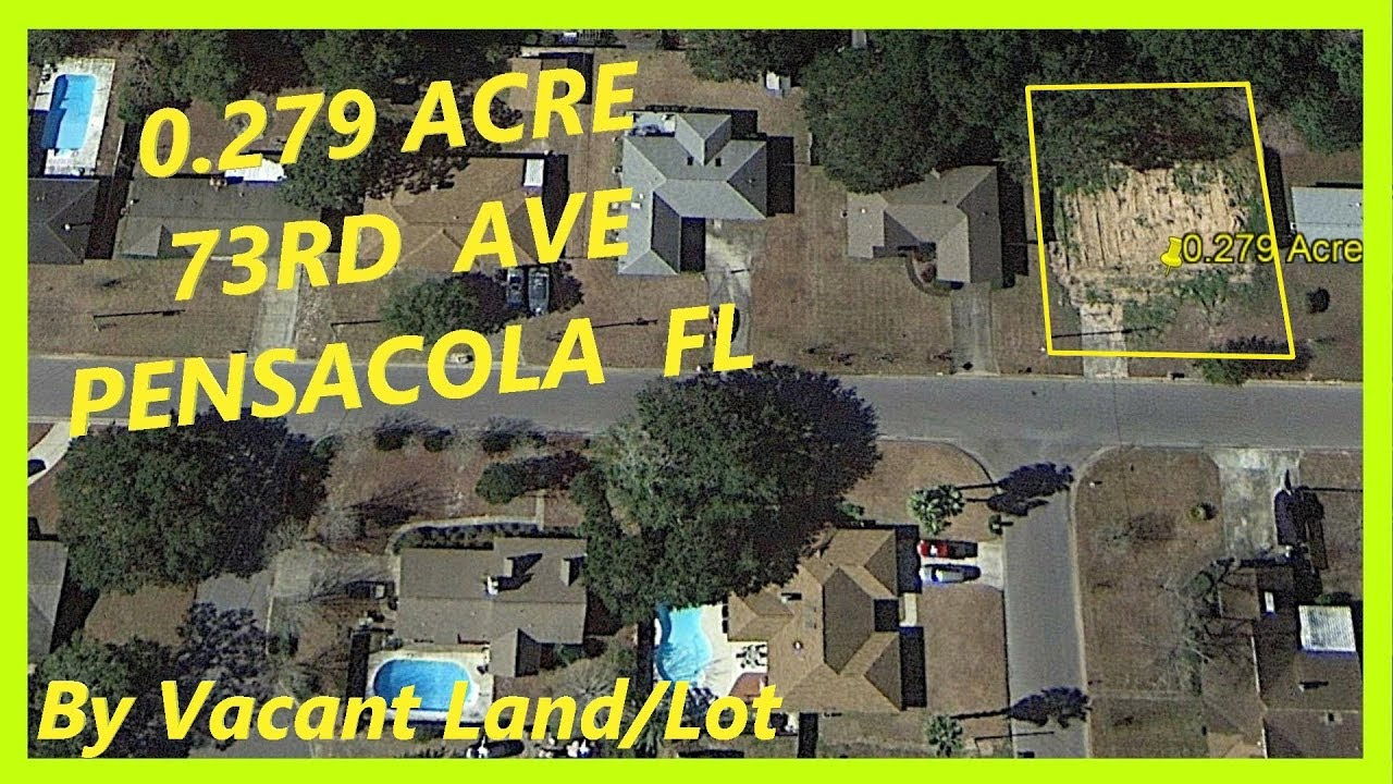 SOLD! -Land for sale in Pensacola FL - 0.279 Acre in Pensacola, Escambia county, Florida