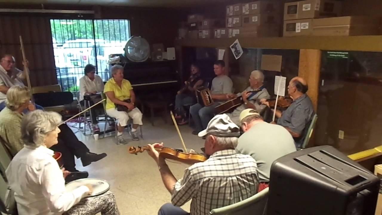 Marc Savoy Cajun Music Jam in Eunice, Louisiana - YouTube