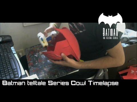Batman Telltale Batsuit : Cowl Timelapse